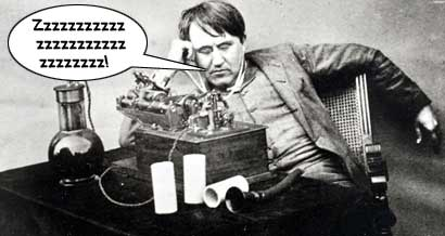 Thomas-Edison-napping